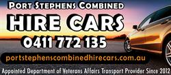 Port Stephens Combined Hire Cars
