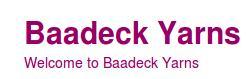 Baadeck Yarns