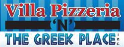 Villa Pizzeria N The Greek Place