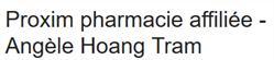 Angele Tram Hoang Pharmacie