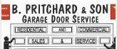 B Pritchard & Son Garage Door Service