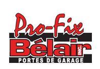 Portes de Garage Pro-Fix Bélair inc.