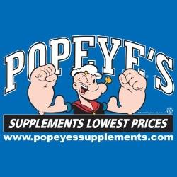Popeye's Supplements Hamilton