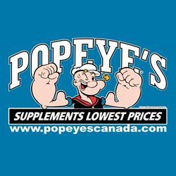 Popeye's Supplements Stoney Creek