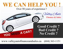 Valley Auto Finance And Sales