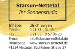 Sonnenstudio Starsun-Nettetal