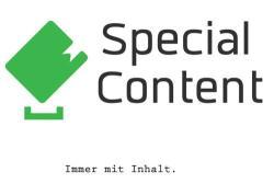 Website erstellen - Essen - Special Content. Werbeagentur Kucherskyy