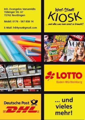 West-Stadt Kiosk Reutlingen
