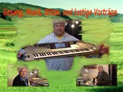 Alleinunterhalter - Sänger - Musiker - Keyboard - Akkordeon - Spieler | Alfred Körber