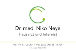 Hausarzt in Tegel | Praxis Dr. med. Niko Neye | Internist