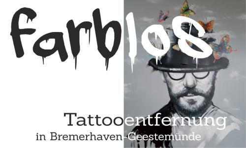 farblos - Tattooentfernung