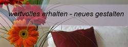 Designeroldies restaurieren - Polsterer - Heimtextilien - Albstadt |Raumausstattung Steffen Schlegel