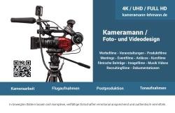 Kameramann / Foto- und Videodesign