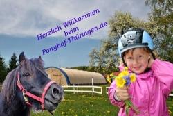 Ponyhof Thüringen Reiten für Kinder - Ponyhof Thüringen Pferde Erlebnis