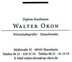 Walter Okon Wirtschaftsprüfer, Steuerberater