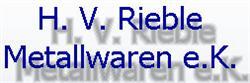 Rieble H. V.