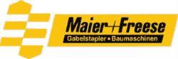 Maier + Freese  Gabelstaper-Baumaschinen