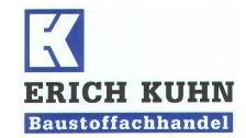 Kuhn Baustoffgroßhandel Baustoffe-Transporte-Brennstoffe Erich