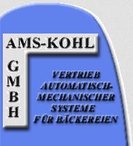 AMS-Kohl GmbH Vertrieb automatisch-mechanischer Systeme für Bäckereien