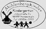 "Kindergartenverein Brünen e.V. ""mühlenbergkinder"" Familienzentrum"