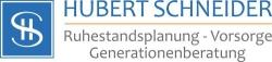 Hubert Schneider / Fachwirt für Finanzberatung (IHK) / Stiftungsberater DSA