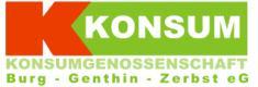 Konsum Burg-Genthin-Zerbst