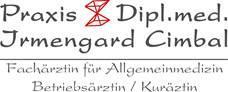 Ärzte Cimbal Irmengard Dipl.-Med. Fachärztin F. Allgemeinmedizin Kurärztin