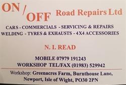 ON /Off Road Repairs ltd