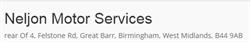 Neljon Motor Services of Birmingham
