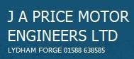 J A Price Motor Engineers Ltd