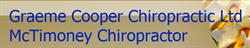 Graeme Cooper Chiropractic Ltd Mctimoney Chiropractor Chippenham