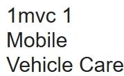 1MVC Mobile Vehicle Care