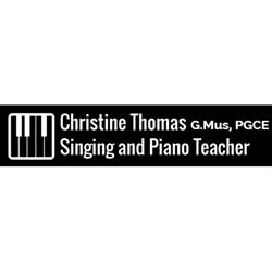 Christine Thomas Singing & Piano Teacher G.Mus PGCE