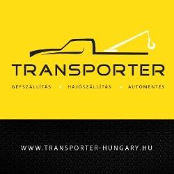 TRANSPORTER - Gépszállítás, Hajószállítás, Autómentés