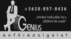 Genius Driver Kft. - Genius Sofőrszolgálat