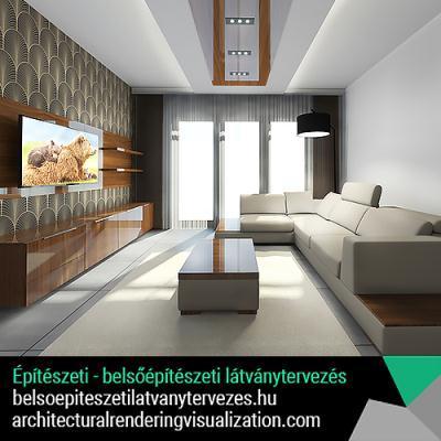 Építészeti - belsőépítészeti 3D látványtervezés