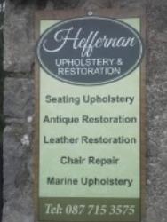 Heffernan upholstery
