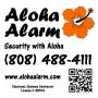 Aloha Alarm Llc-Home Security Alarm Systems Honolulu, Oahu, Hawaii