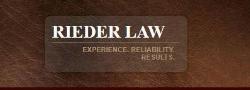 Rieder Law