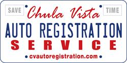 CHULA VISTA AUTO REGISTRATION SERVICE