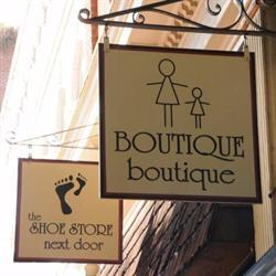 BOUTIQUE boutique & The SHOE STORE next door